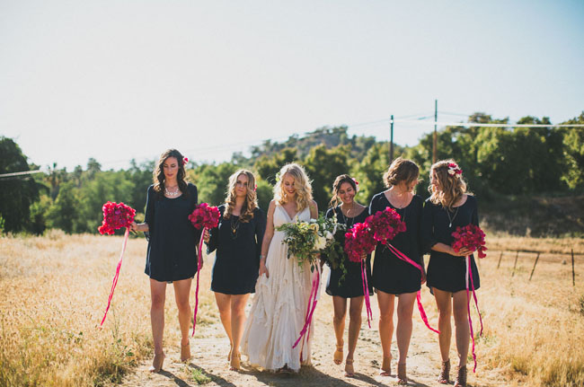 bougainvillea bridesmaids