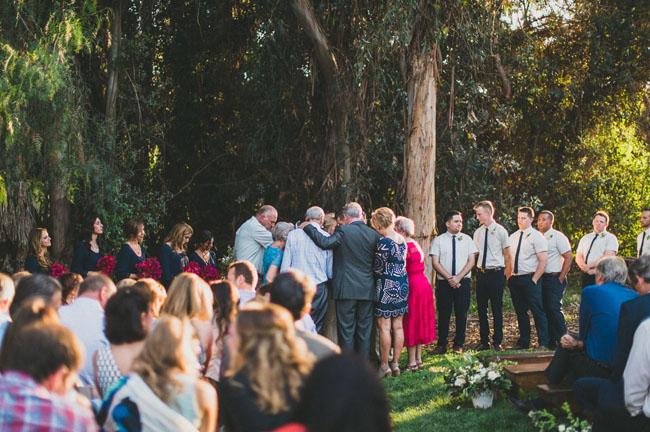 outdoor ceremony