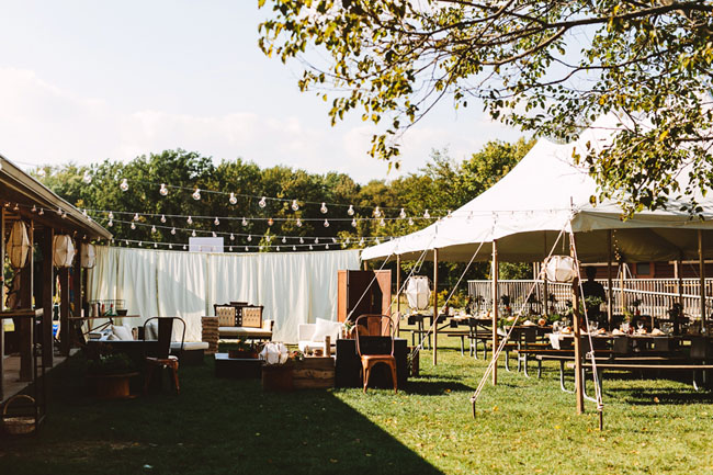 Boho Camp Wedding