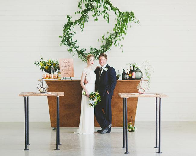 Art Inspired Wedding