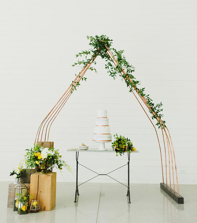 Art Inspired Wedding