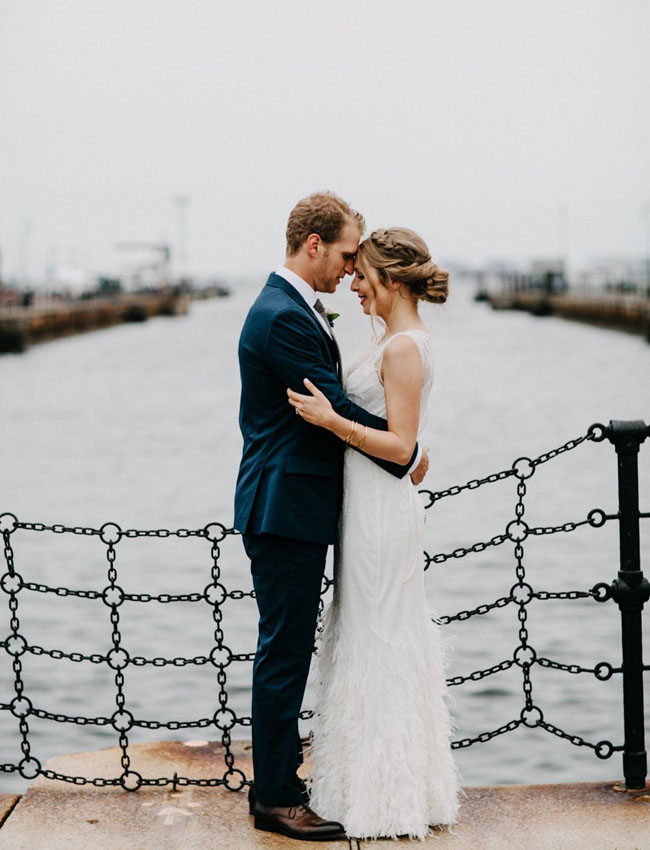 Boston Pier Wedding