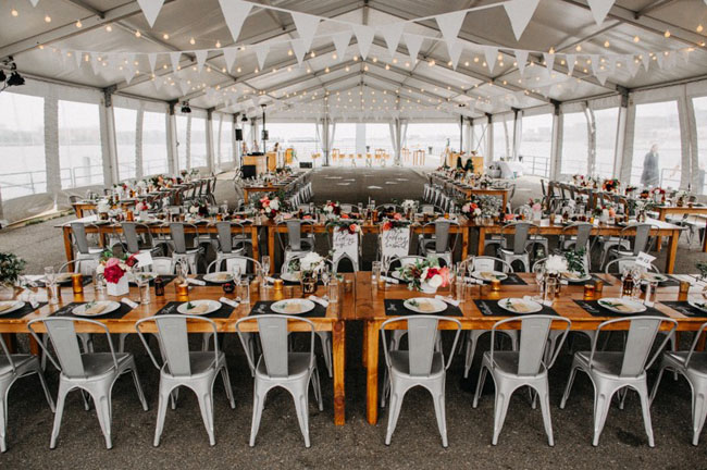 Boston Pier Wedding