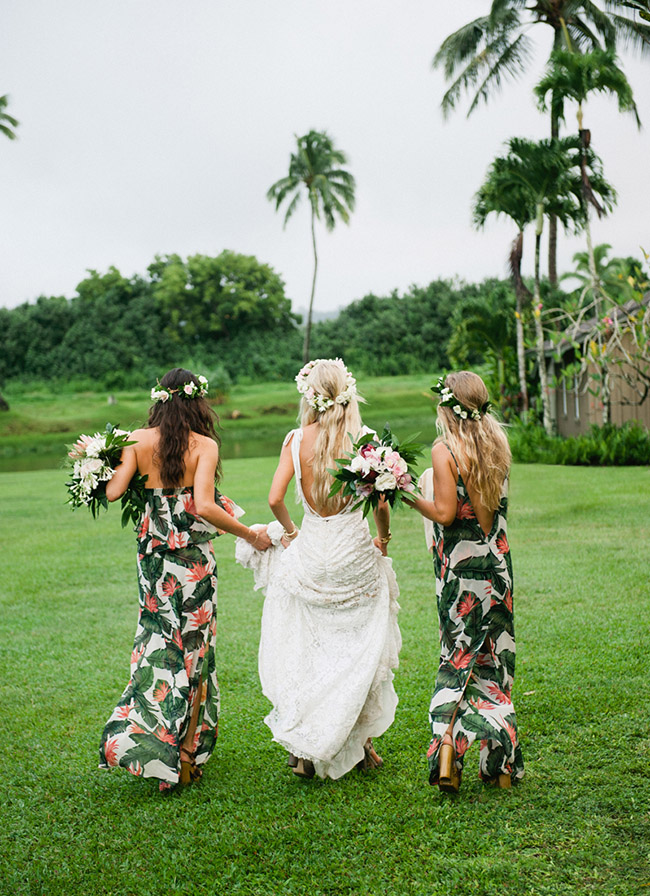 bride and bridesmaids in Show Me Your Mumu