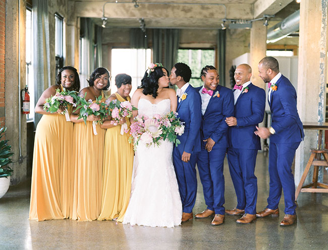 Colorful Boho Dallas Wedding