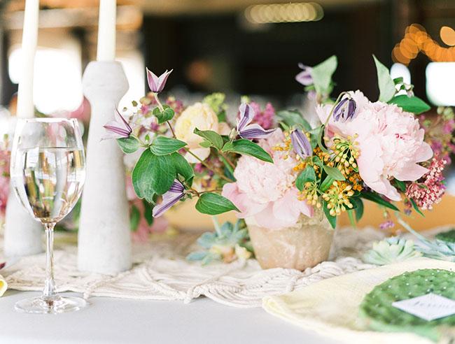 Colorful Boho Dallas Wedding