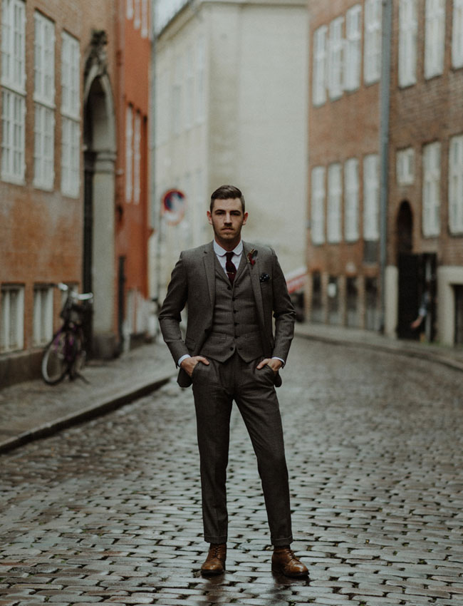 Tweed Suit Groom