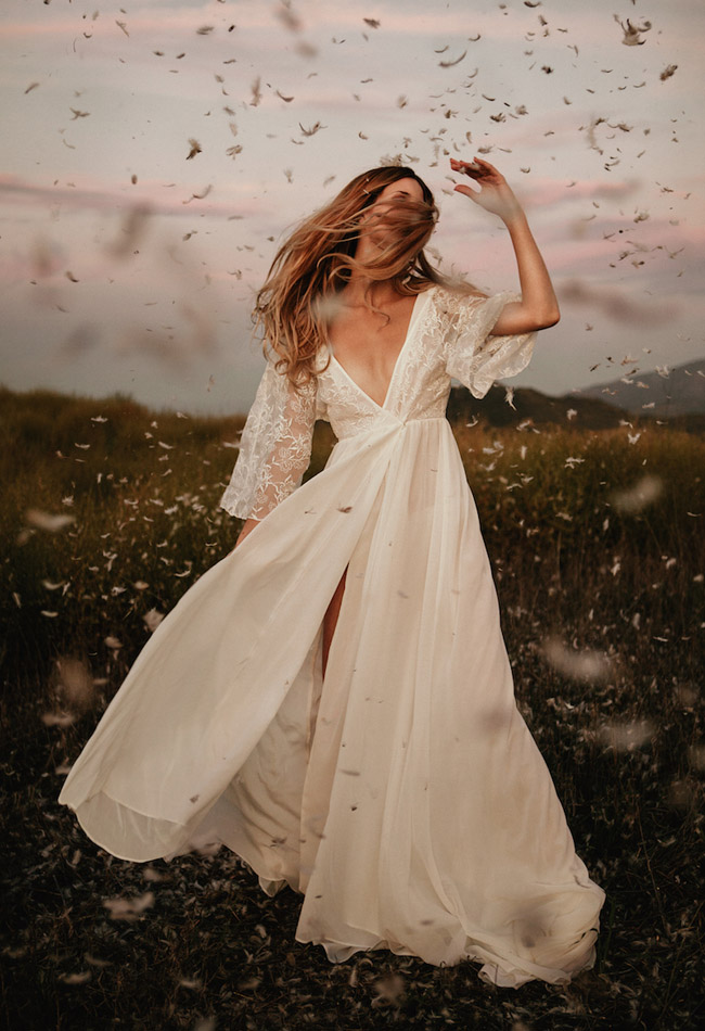 beautiful unique wedding dresses by dreamers lovers
