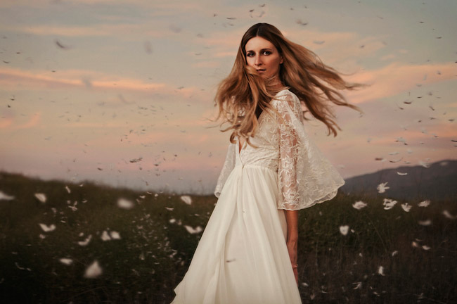 Beautiful, Unique Wedding Dresses by Dreamers & Lovers - Green ...