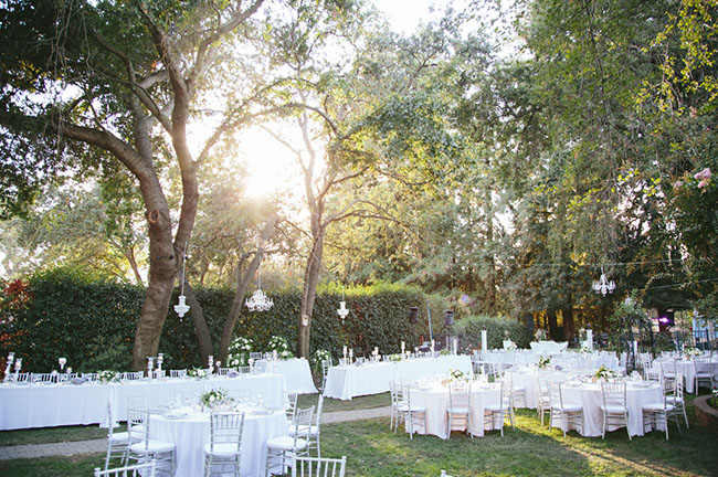 Backyard Fairytale Wedding