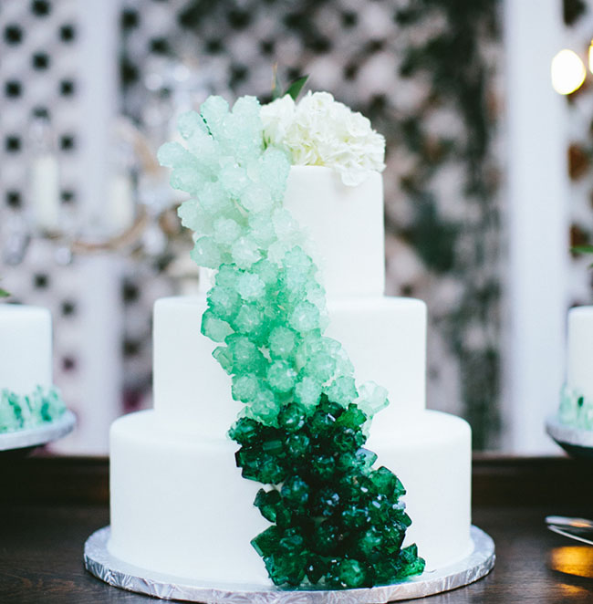ombre rock cake