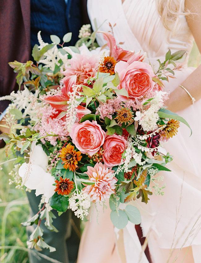 Fall Marsala Bouquet