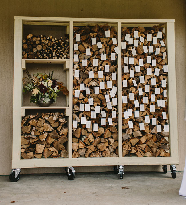 firewood escort display