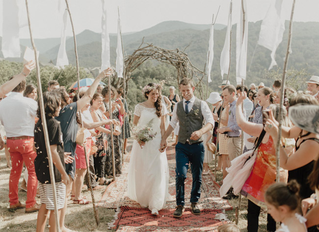 French Pyrenees Wedding