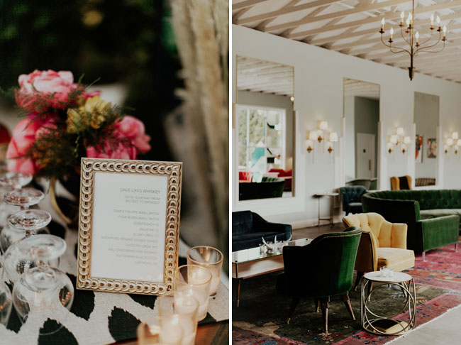 Modern Gatsby Wedding