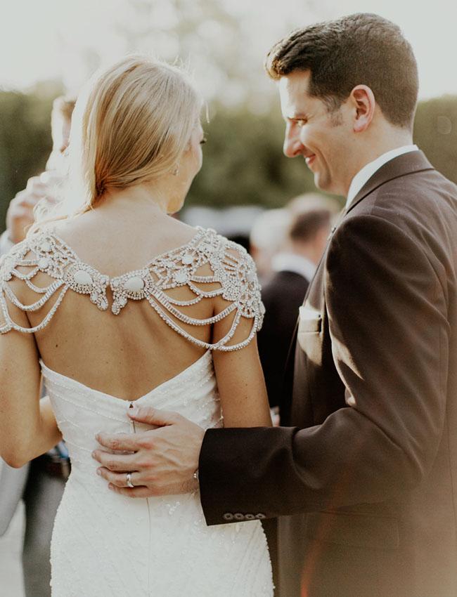 Modern Gatsby Wedding