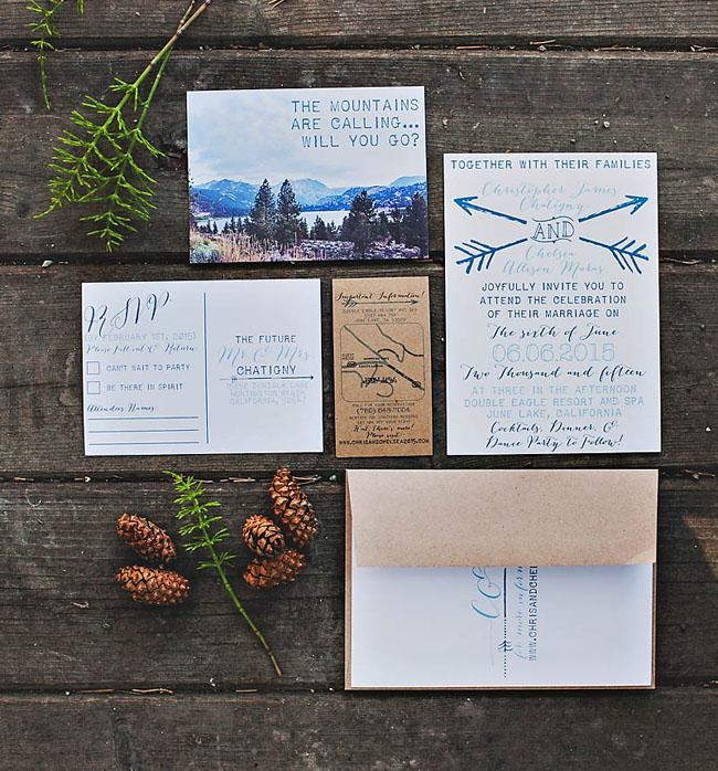 mountain invitation