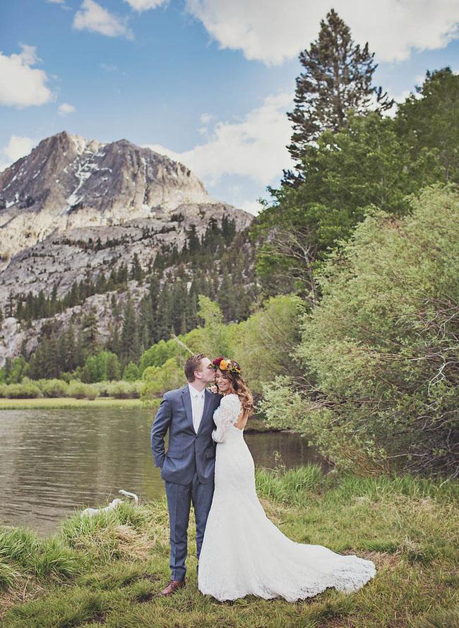 June Mountain Wedding