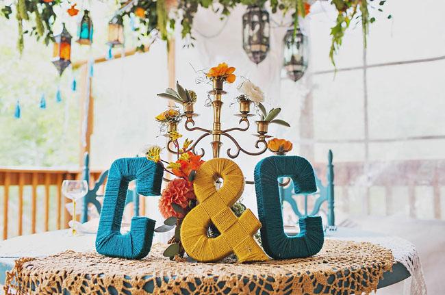 yarn initials