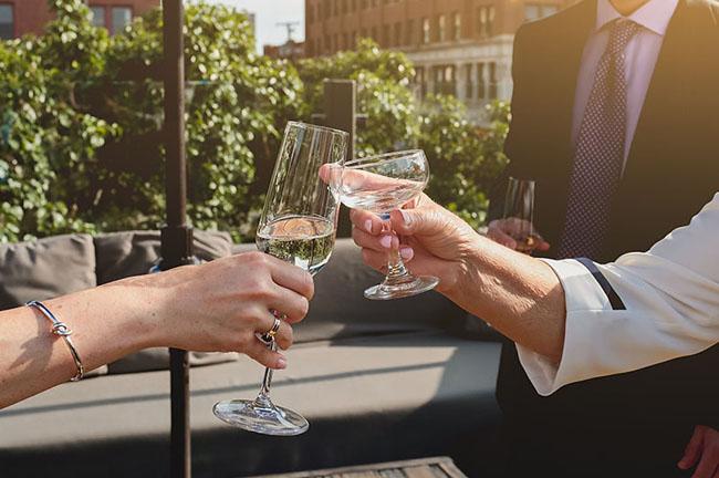 Intimate Chicago Wedding