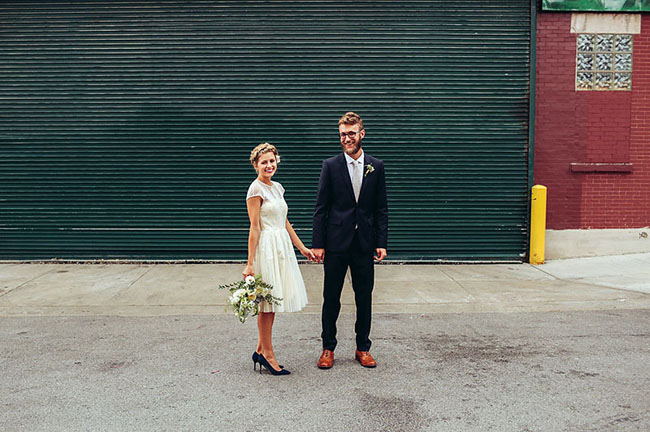 Intimate Chicago Wedding