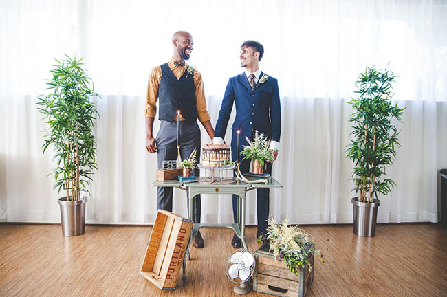 masculine groom inspiration