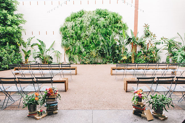 Rainy Los Angeles Wedding