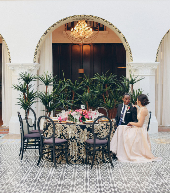 Cuban Home Decor: Modern Cuban Wedding Inspiration At The Ebell Club In Long