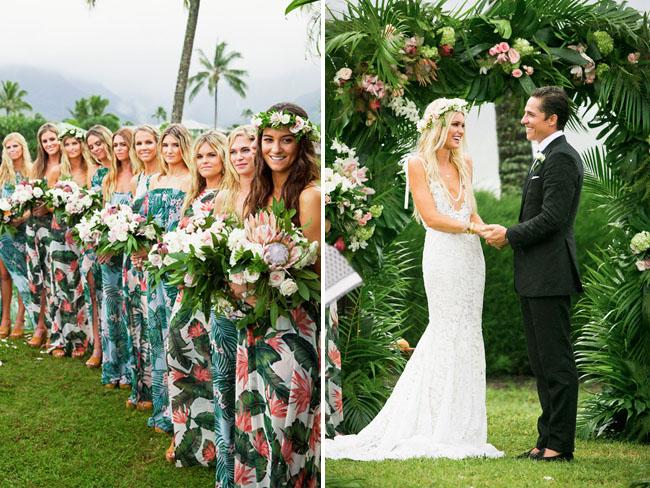 Bohemian 70s Inspired Kauai Wedding Cologne Sam Green