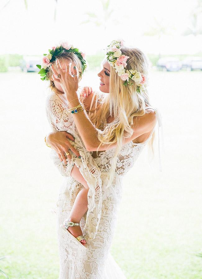 boho flower girl