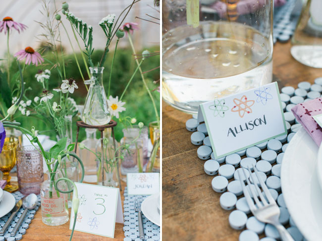 Science Inspired Wedding