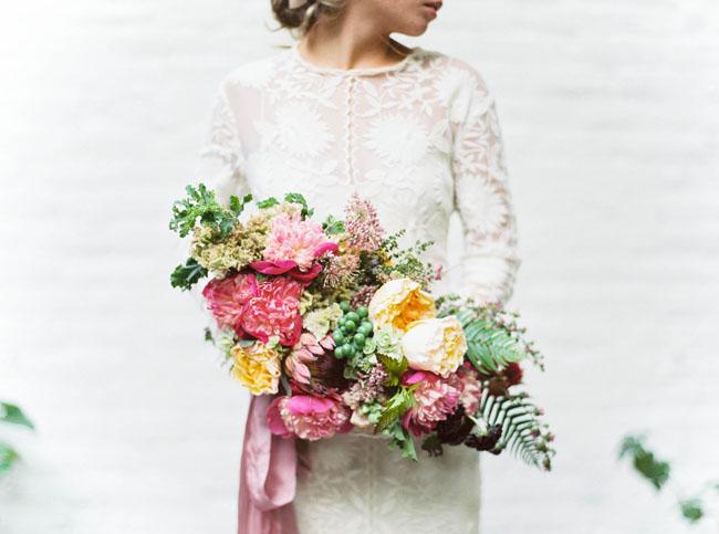 Soft Boho Inspiration Bouquet