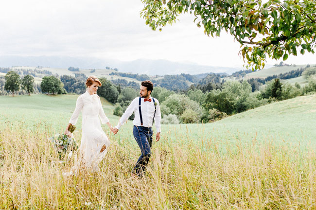 Swiss Inspired Elopement