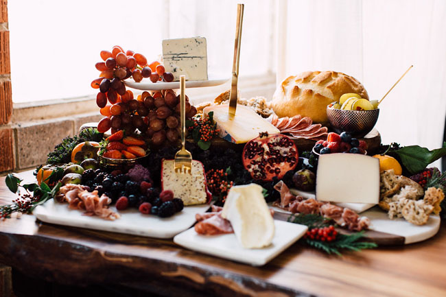 How to Style a Cheese Board