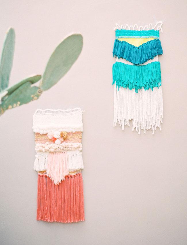 yarn weavings