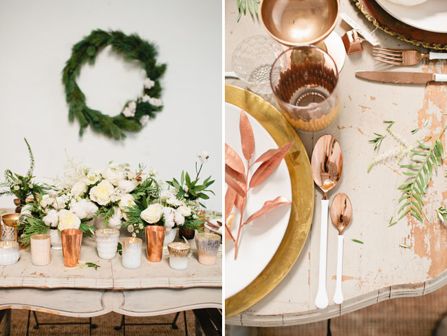 Copper Christmas Inspiration