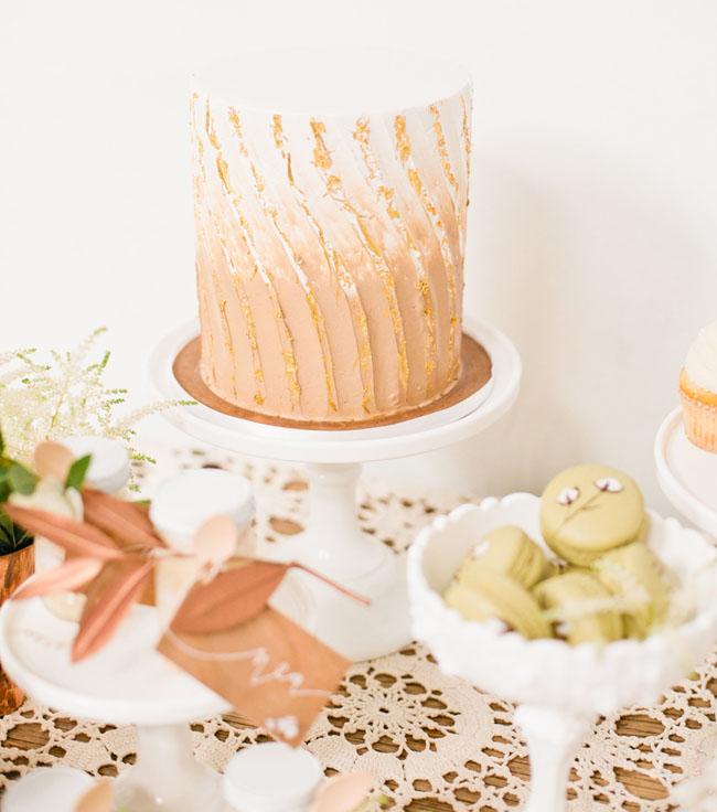 copper cake