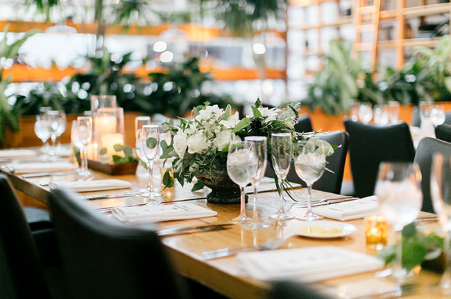 Urban Garden Wedding