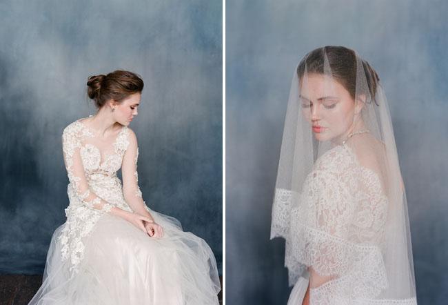 Những góc nhìn khác cho váy cưới của Emily