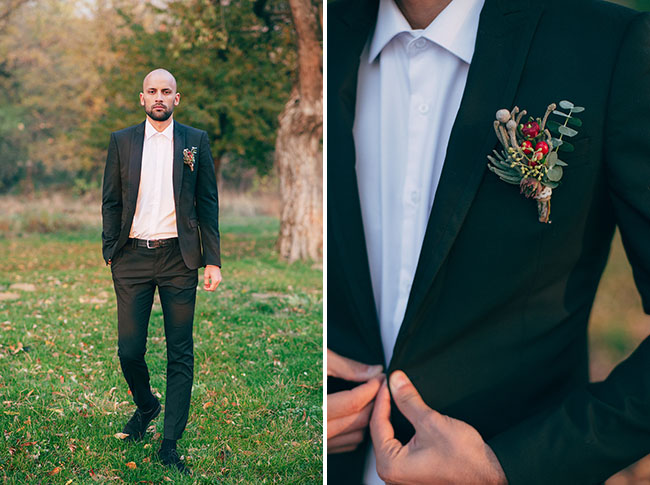 Fall Ukraine Wedding