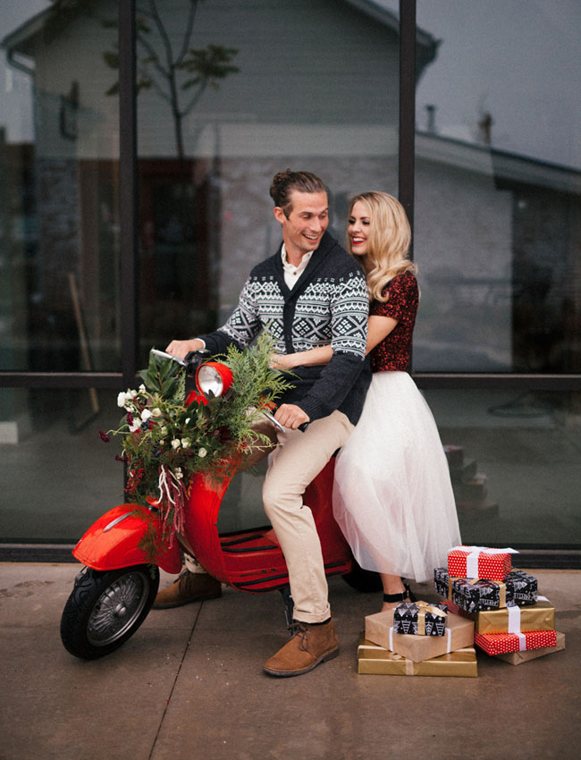 Holiday Engagement Session