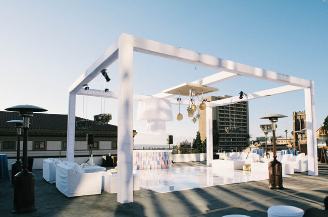 San Diego Rooftop Wedding