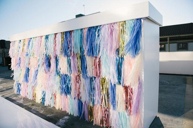 tassel backdrop
