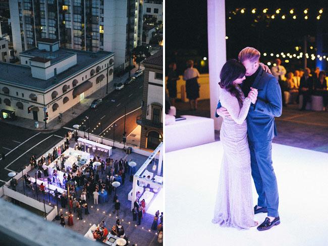 San Diego Rooftop Wedding
