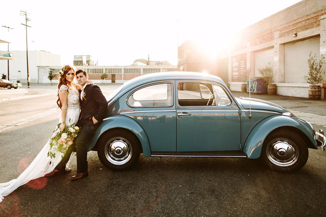 Modern Los Angeles Wedding