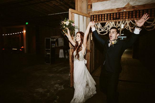 Modern Los Angeles Wedding