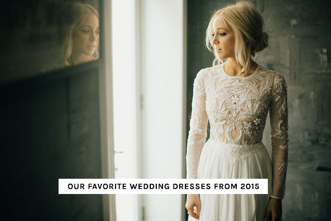 Top Wedding Dresses of 2015
