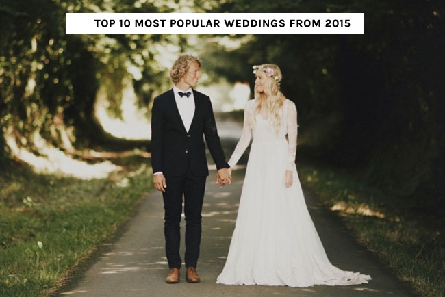Top Weddings of 2015