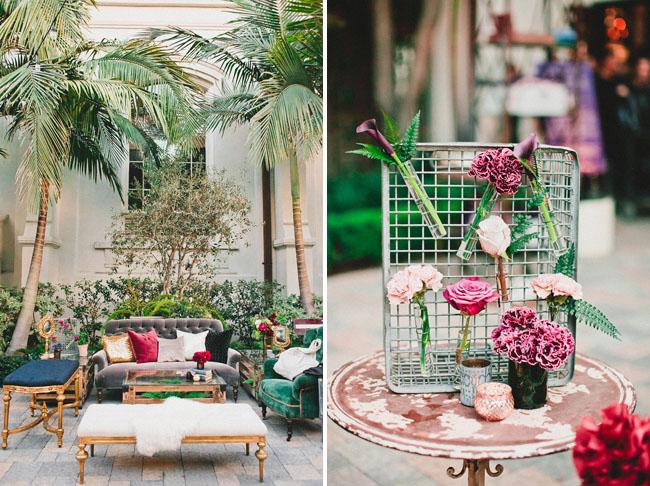jewel tone lounge