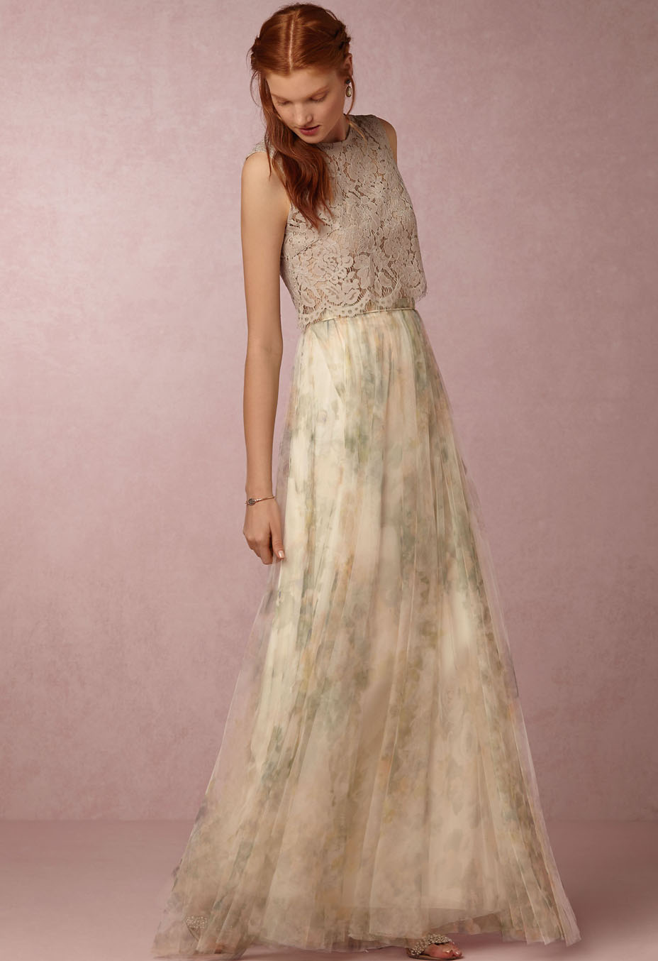 280c541c8fe Floral Bridesmaid Dresses Jenny Yoo